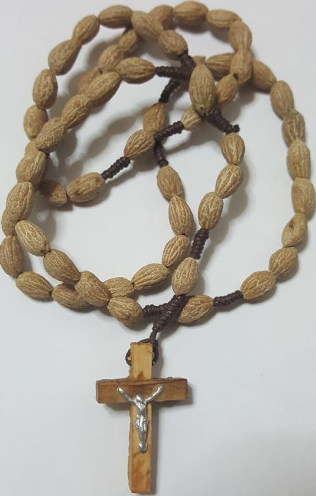 Holy Land Olive Seeds Rosary