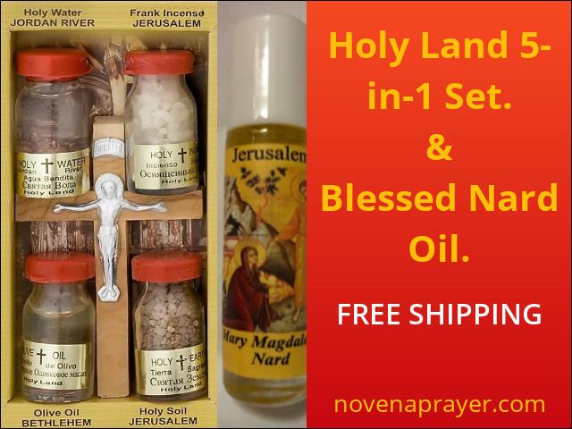 Nard Oil + Holy Land 5-in-1 Set.