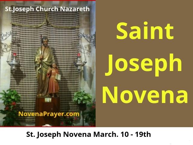 St joseph novena prayer for a good husband