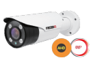מצלמת צינור 2K/4MP AHD של PROVISION דגם I4-340AHDVF