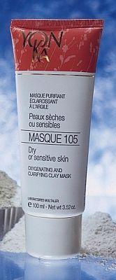 MASQUE 105-מסכת ניקוי לעור יבש או רגיש