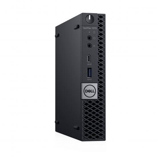 Dell Optiplex 7070 MFF -i7-9700T- 256GB SSD - 8GB -Win10 Pro -3YOS