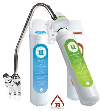 מערכת סינון מים 3 שלבים Microfilter U1