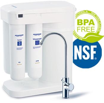 אוסמוזה הפוכה קומפקטית Aquaphor - הובלה והתקנה חינם