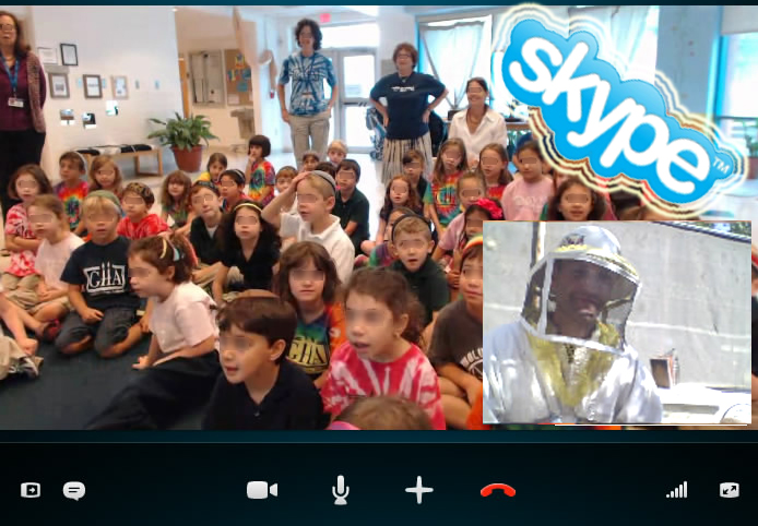 Skype virtual fieldtrip