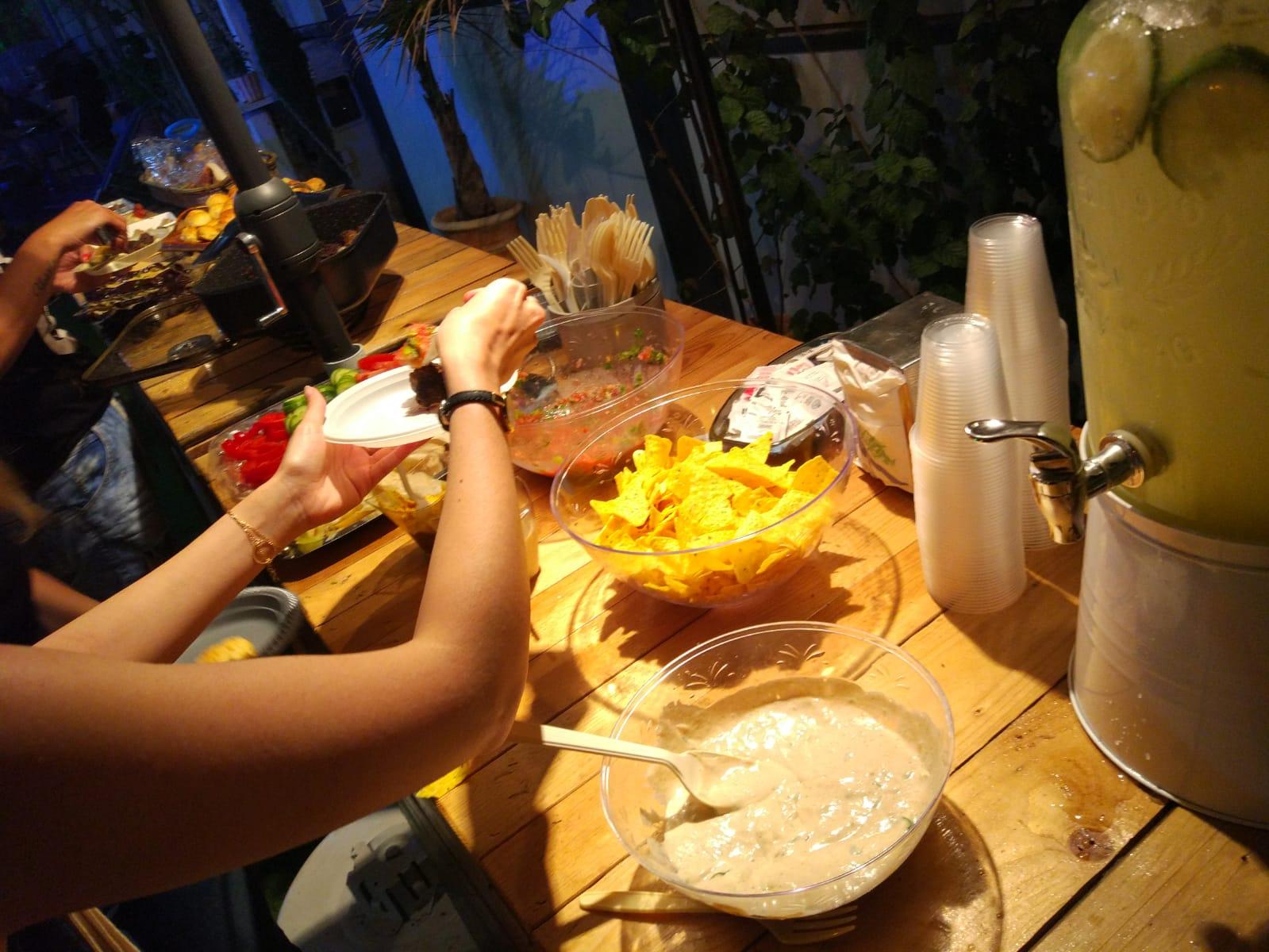 דוכני מזון לארועים