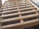 משטח עץ עם מסגרת זוגי 140-190