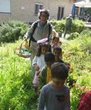 ילדי הגן בטיול פורים