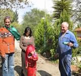 ילדי הגן מעניקים משלוח לראש המועצה של טבעון