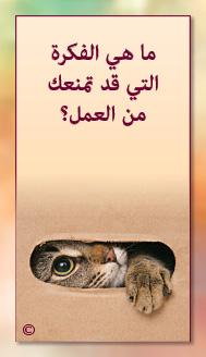 קלפי מנטורי בערבית- ألمستشار الذاتي- ألأسئلة التي تفتح الطريق 13