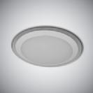 צמוד תקרה עגול 100W בשילוב אפקט הנצנצים
