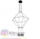 גוף תאורה דקורטיבי תלוי LED מעוצב סנסה 6
