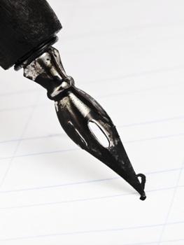 כתיבה של תוכן באמצעות עט מיוחד