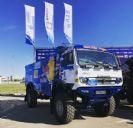 הצצה לדור הבא של משאית המירוצים של קאמאז.