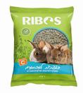 """מזון לארנבות 1 ק""""ג ריבוס פשוט"""
