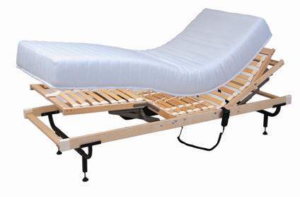 מיטה מתכווננת מטראפלקס