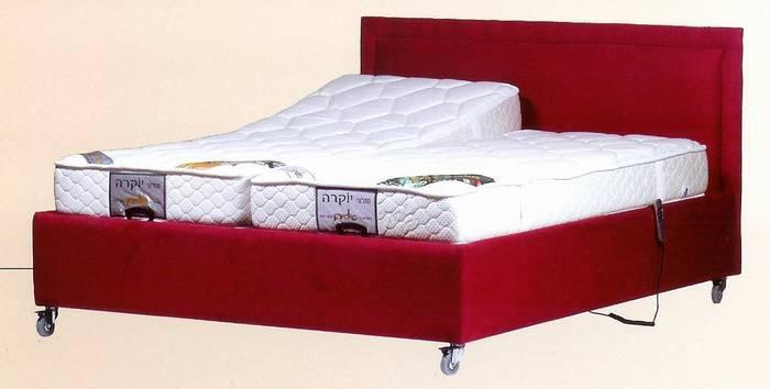 מיטה מתכווננת קומפלט של פולירון- ספיר