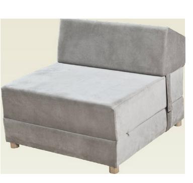 כורסא פולירון נפתחת למיטת יחיד - דגם סימפטיה
