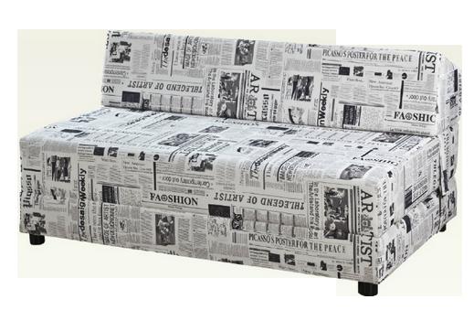 ספת פולירון נפתחת למיטה זוגית - דגם סימפטיה