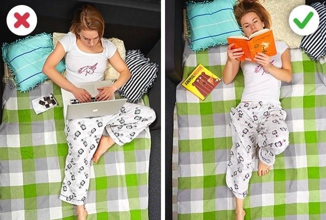 איך להירדם מהר
