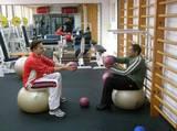 """ספורט טיפולי ואימון כושר שיקומי בחדר כושר """"וינגייט"""" - שיווי משקל"""
