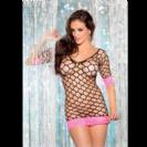 שמלה מיני רשת