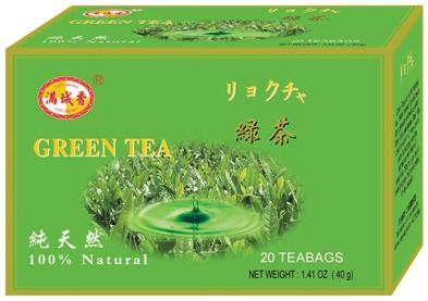 תה ירוק שקיקים