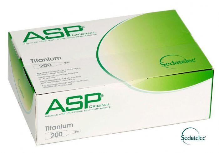 מחטים לאוזן טיטניום ASP, כ-200 יח sedatelec