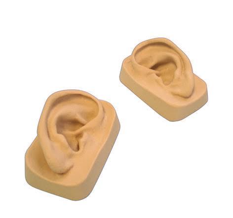 דגם אוזן מסיליקון צד שמאל