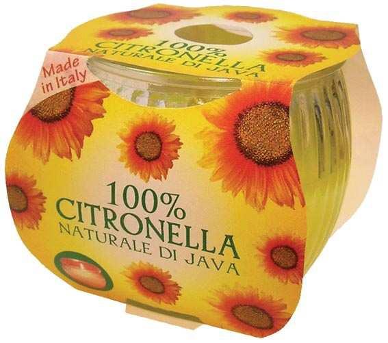 נר ציטרונלה בקופסה