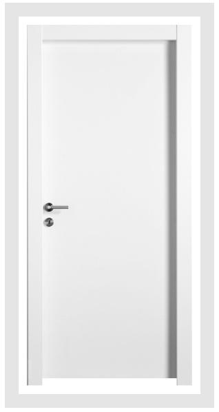 למינטו Superior נובלו - לבן - Barcelona - דלת חלקה
