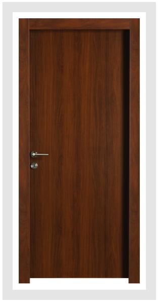 Aquadoor+ Classic - אגוז - Barcelona - דלת חלקה