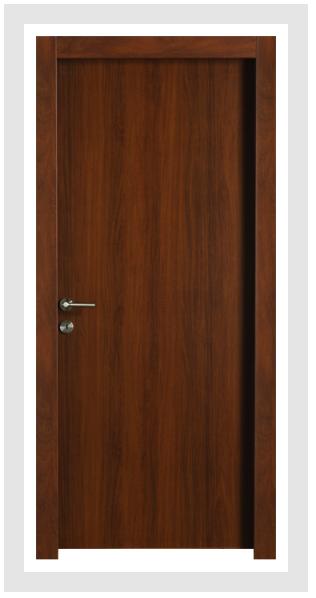 Aquadoor Silence Classic - אגוז - Barcelona - דלת חלקה