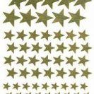 מדבקות כוכבים זהב