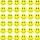 מדבקות סמיילי צהוב גדול-402