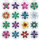 מדבקות פרחים-654