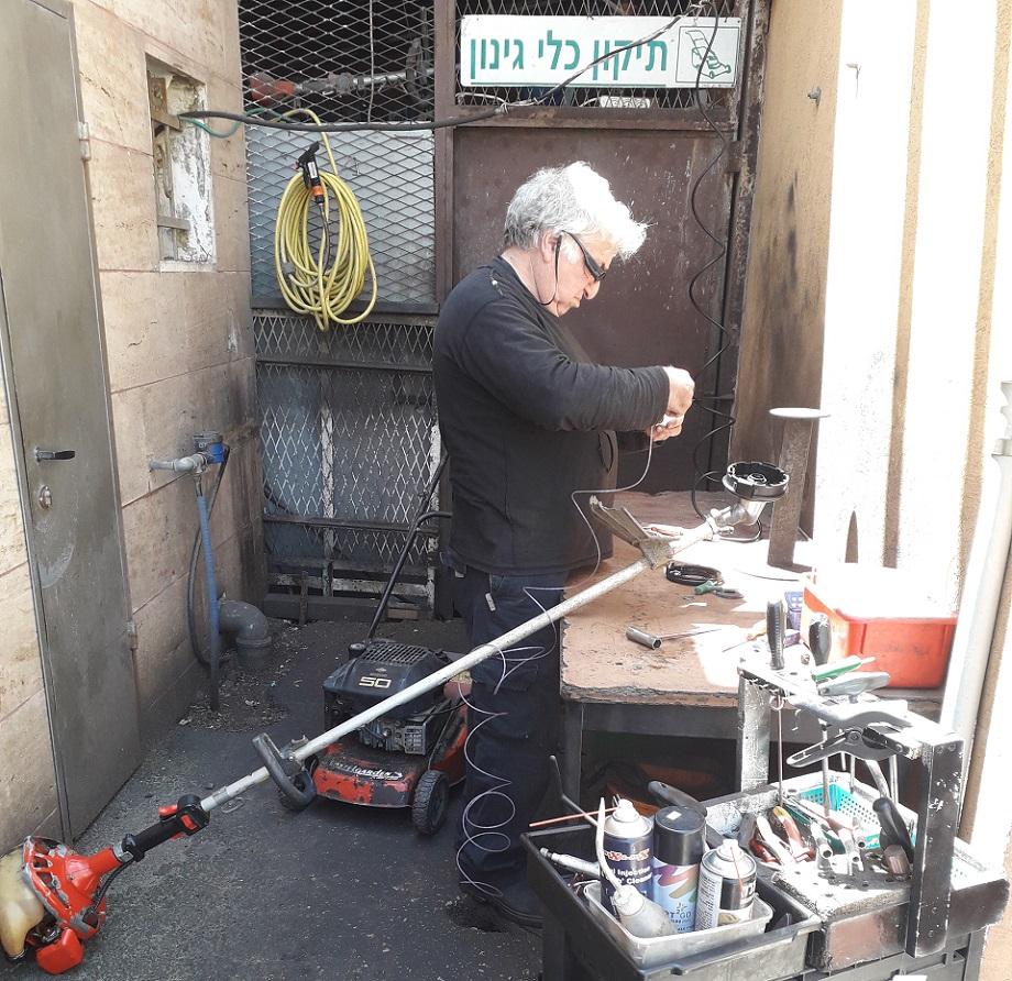 שלום מילר: שירות תיקון ומכירת כלי גינון