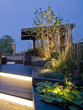 תאורה בגינת מרפסת
