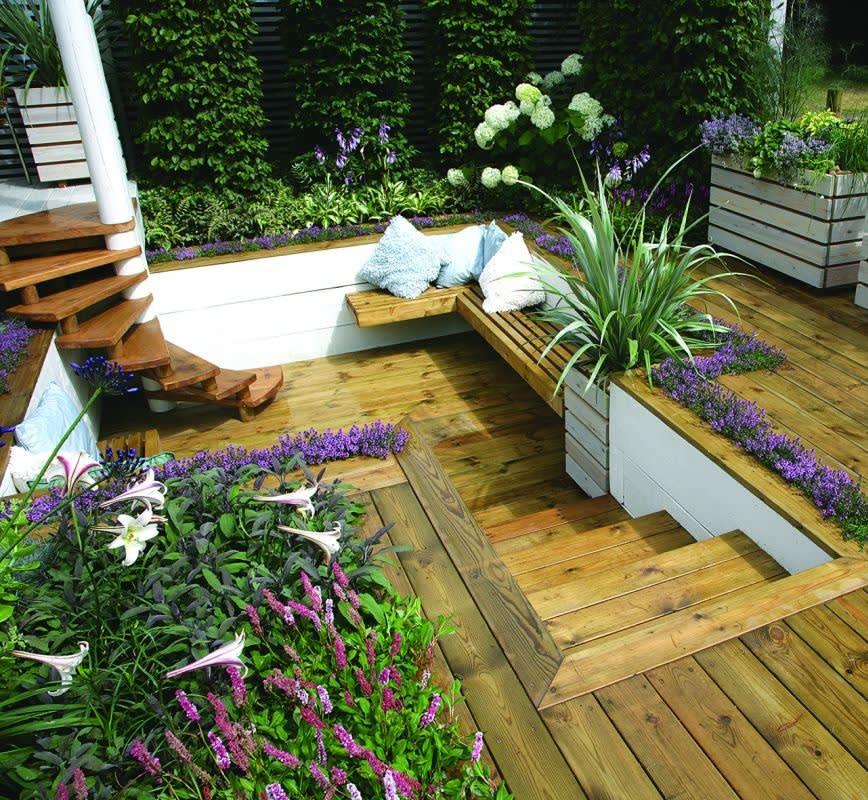 גן גינון - תכנון ועיצוב גינות קטנות בקריות