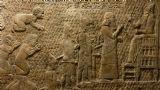 כיבוש לכיש בתבליטי אשורי מהארמון בנינווה, מוצג במוזיאון הבריטי