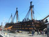 ספינת המלחמה ויקטורי עליה נהרג אדמירל נלסון בקרב ווטרלו