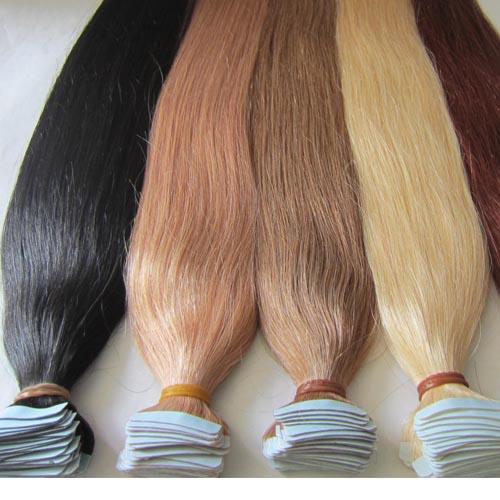 תוספות שיער הדבקה- טייפ