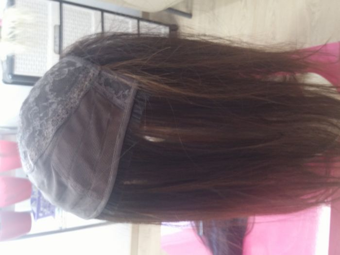 השלמת שיער מבסיס טרסים ללא שביל