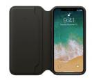 iPhone X Leather Folio - Black MQRV2ZM/A