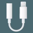 Lightning to 3.5 mm Headphone Jack Adapter MMX62ZM/A