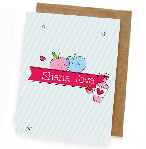 כרטיס ברכה - SHANA TOVA