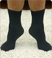גרביים עבות אנגורה