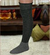 גרביים מעל הברך