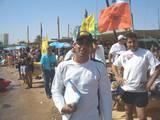 חיוך הסיום של דורון אלמליח מנהל המרוץ