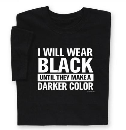 שחור עם שחור